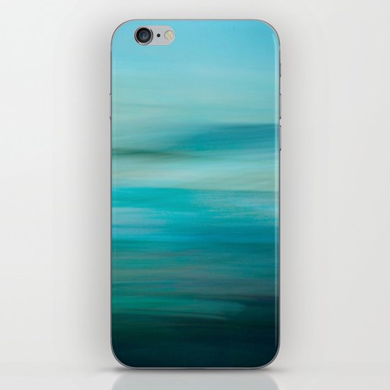 Greenish Blue Sea iPhone & iPod Skin