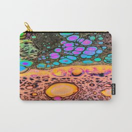 Neon Oil Spill Carry-All Pouch