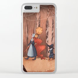 Witch Clear iPhone Case