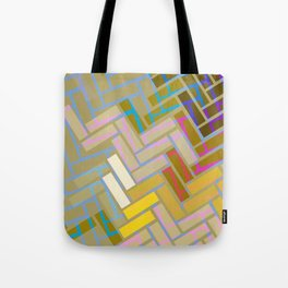 Fill In The Blank Colors Tote Bag
