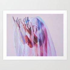 Veiled Imagination Art Print