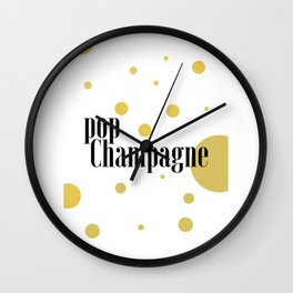 CHAMPAGNE SIGN Party Decoration But First Champagne Celebration Of Life Champagne Gifts Party Wall Clock