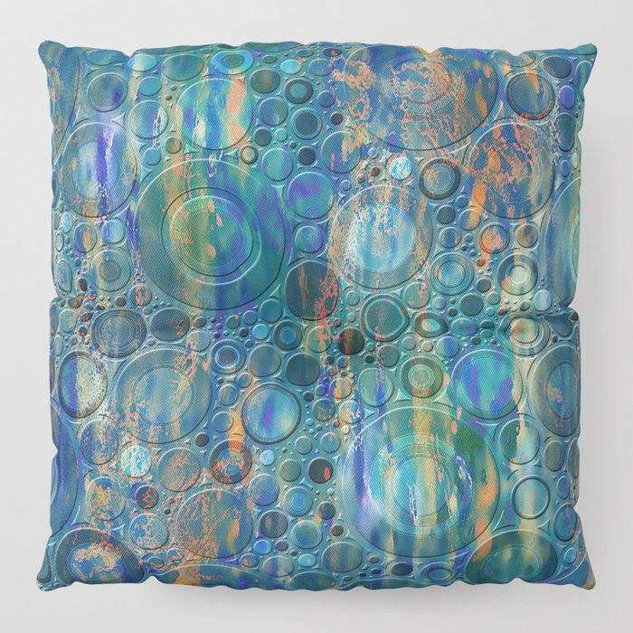 Autumn Rain Floor Pillow