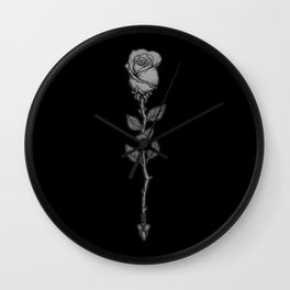 Deadly Love Wall Clock