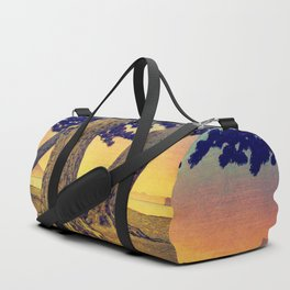Domi's Heart at Sunset Duffle Bag