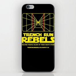 Trench Run Rebels iPhone Skin