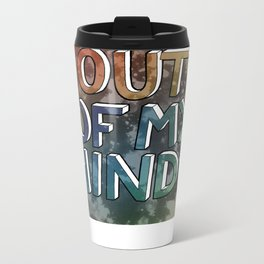 Bored Out Of My Mind Metal Travel Mug