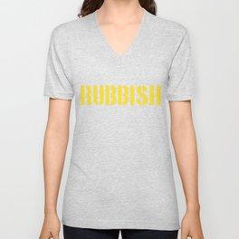 RUBBISH Unisex V-Neck