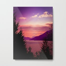 Sunset Sea to Sky Metal Print