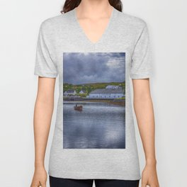 Talisker  Isle of skye Unisex V-Neck