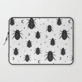 Occult Cosmic Beetle Pattern Laptop Sleeve