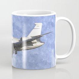 Dassault Falcon 2000 Jet Art Coffee Mug