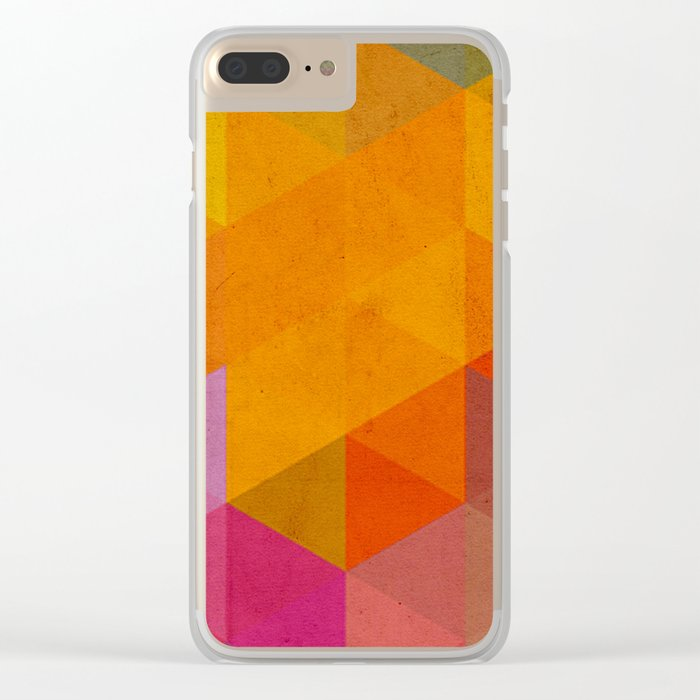 try a different angle triangle Clear iPhone Case