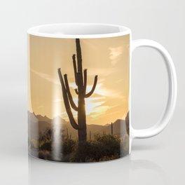 Saguaro Sunset Salute Coffee Mug