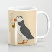 marianna Mugs featuring Puffin' by Megs stuff...