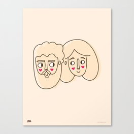 The motilon´s Canvas Print