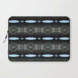 Oak Tree Blue Portal Nature Pattern by Debra Cortese Designs Laptop Sleeve