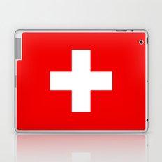 Flag of Switzerland - Authentic (High Quality Image) Laptop & iPad Skin