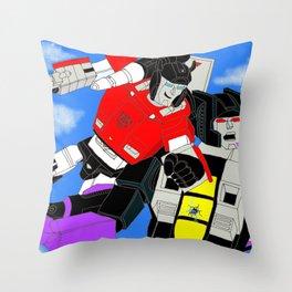Fan art: Sideswipe vs Skywarp Throw Pillow