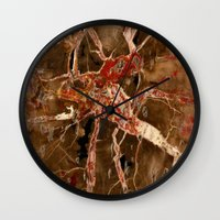 geology Wall Clocks featuring Funky Geology by UMe Images