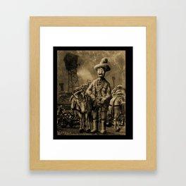 George Atherton. Tintype Framed Art Print