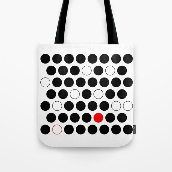 Dare To Be Different - Abstract, minimalist design Tote Bag