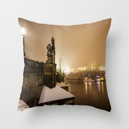 Prague 6 Throw Pillow