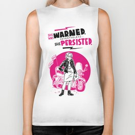 She Persisted Biker Tank