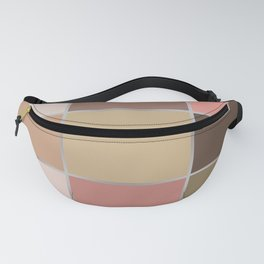 Squares , patchwork 5 Fanny Pack