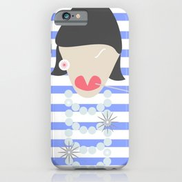 FRENCH FASHION ICON iPhone Case