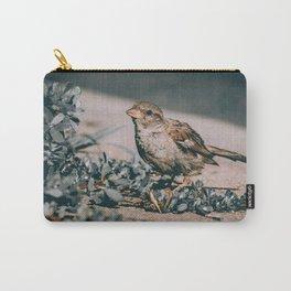 Summer Sparrow. Bird Photograph Carry-All Pouch