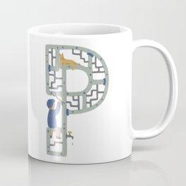 P as Plumber Coffee Mug