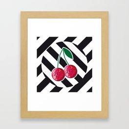 disco chery Framed Art Print