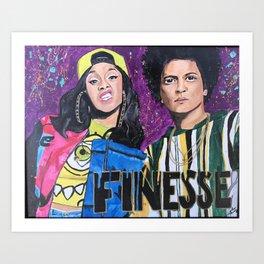 Finesse Art Print