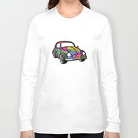 hippie Long Sleeve T-shirts featuring Buggin - Hippie by Tali Rachelle