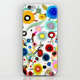 Rupydetequila whimsical floral art 2018 iPhone Skin