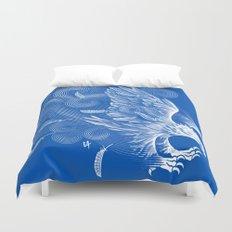 Windy Wings Duvet Cover