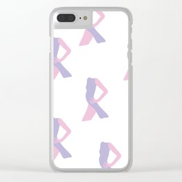 model Clear iPhone Case