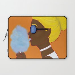 Cotton Candy Girl Laptop Sleeve