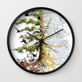 The Woods and The Water Wall Clock