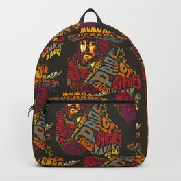 Psychedelic Jason Momoa - Bold as Love Backpack