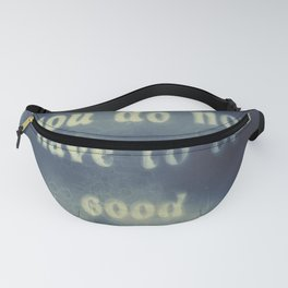 cyanotype affirmation Fanny Pack