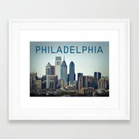 philadelphia Framed Art Prints featuring Philadelphia by photogenome | by billy heemer