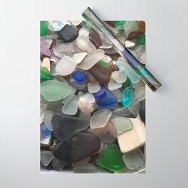 Sea Glass Assortment 1 Wrapping Paper