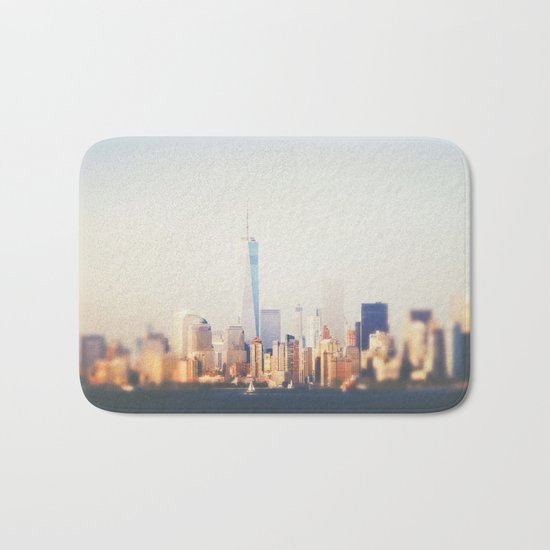 NYC Skyline Bath Mat