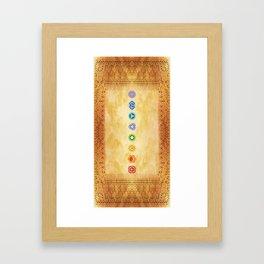 Chakras Kali | Beyond the time  Framed Art Print