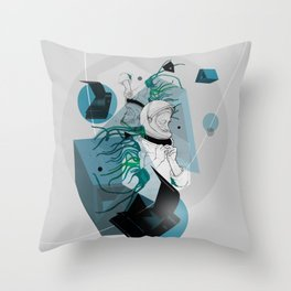 He Spoke On Space Research Throw Pillow