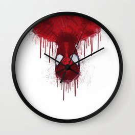 The spider man of New York Wall Clock
