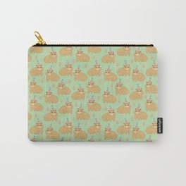 Capybara with party hat ready to party Carry-All Pouch