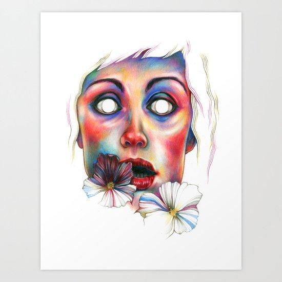Never complete Art Print